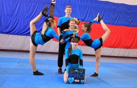 В ФОКе состоялся открытый чемпионат АГО по черлидингу «На крыльях спорта».