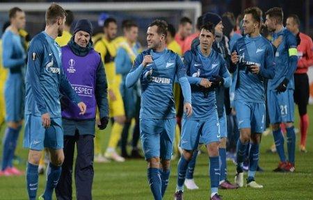 Зенит продолжил свою победную поступь в Лиге Европы.