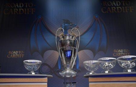 Бавария для Арсенала, ПСЖ для  Барсы. Итоги жеребьевки 1/8 финала Лиги чемпионов.