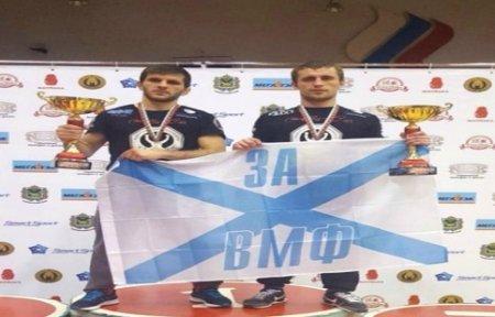 Спортсмены ТОФ стали чемпионами Приморского края по смешанному боевому единоборству.