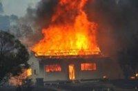 В Артеме брандмейстеры ликвидировали пожар в доме на улице Сахалинская