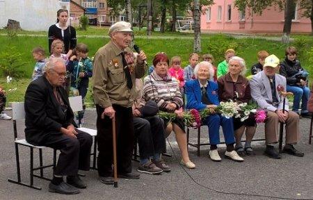 В микрорайоне «Шахта «Амурская» прошли мероприятия, посвященные началу Великой Отечественной войны.