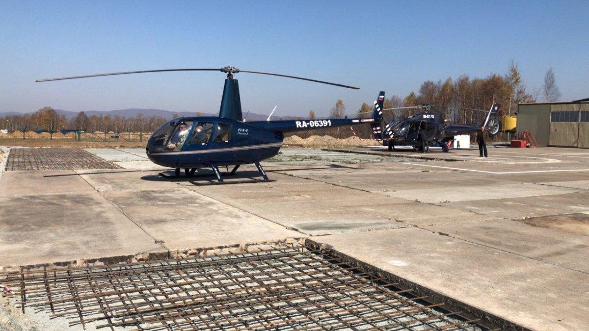 В Артеме строят авиационный учебный центр.