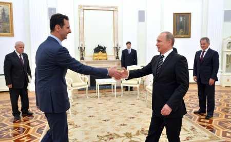 «Поставим точку в борьбе с терроризмом»: Путин и Асад объявили о скором завершении военной операции в Сирии