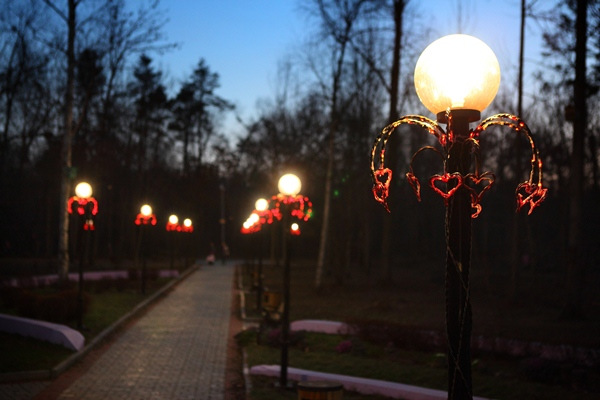 В Артеме «Аллея влюбленных» может остаться без фонарей.