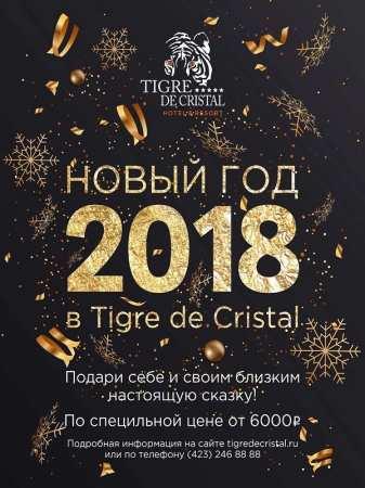 Новый год 2018 в Tigre de Cristal
