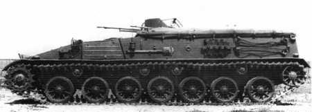 Опытный бронетранспортёр «Объект 112» (СССР).