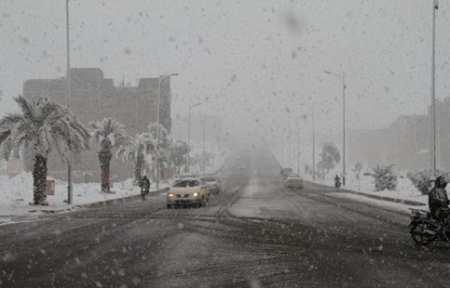 На юге Марокко впервые за 50 лет выпал снег.