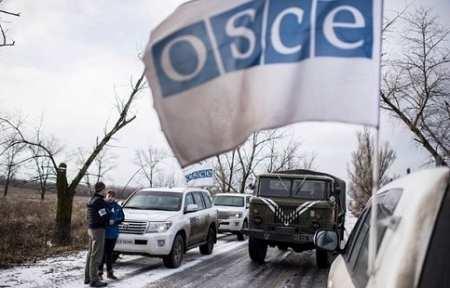 На Донбассе обстреляли патруль ОБСЕ.