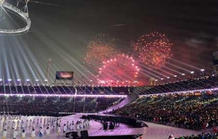 Зимние Олимпийские игры в Пхёнчхане объявлены открытыми.