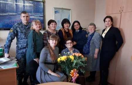 В ИК-20 ГУФСИН России прошли торжественные проводы на пенсию Татьяны Малугиной.