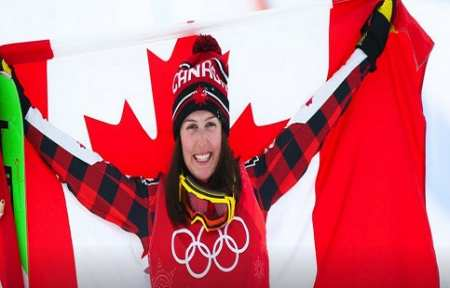 Канадская фристайлистка Серва — олимпийская чемпионка Пхёнчхана-2018 в ски-кроссе.