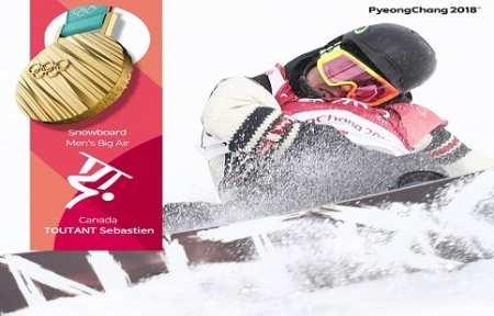 Канадский сноубордист Себастьян Тутан завоевал золото Пхёнчхана-2018 в биг-эйре.