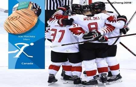 Канадские хоккеисты завоевали бронзовые медали Олимпийских игр в Пхёнчхане.