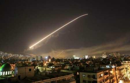Запад нанес удар по Сирии.