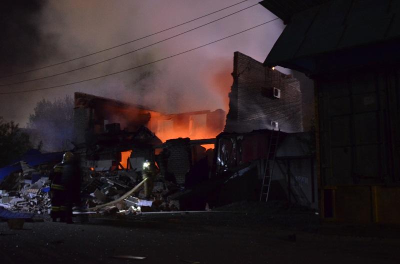 В Артеме сгорел суши-бар «Токио».
