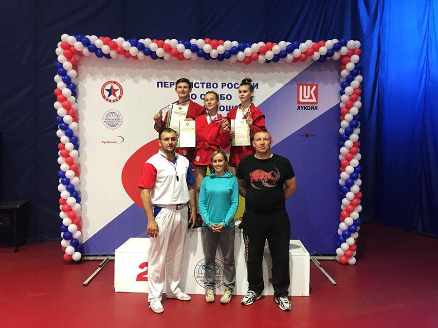 Юная спортсменка из Артема завоевала бронзу на Первенстве России.