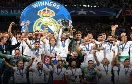 Реал в третий раз подряд выиграл Лигу Чемпионов.