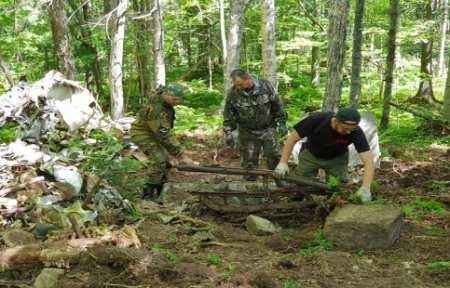 Приморские поисковики обнаружили пропавший во время войны бомбардировщик.