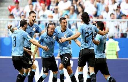 Уругвай разгромил Россию и выиграл группу.