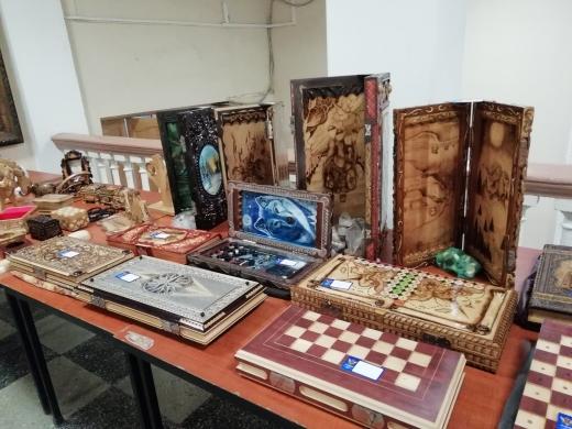 Выставка продажа сувенирной продукции изготовленной в ФКУ ИК-20 ГУФСИН 26-26 июля 2018