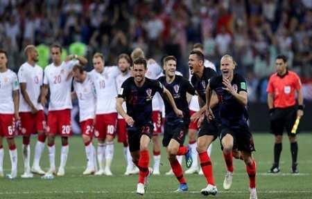 Хорватия по пенальти побеждает Данию и выходит на Россию.