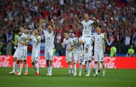 Россия вышла в Четвертьфинал!