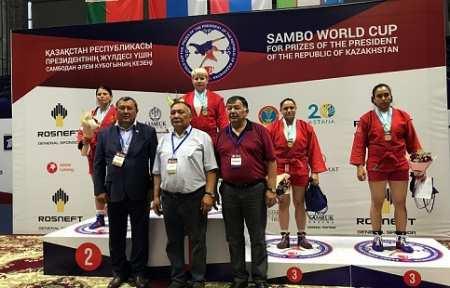 Приморские самбисты завоевали награды международного турнира в Казахстане.
