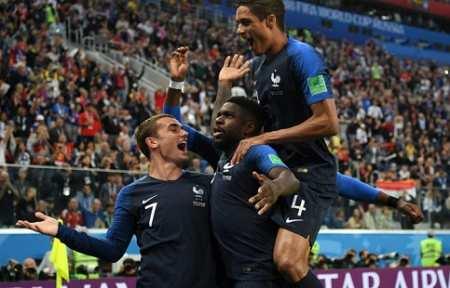 Франция вышла в Финал чемпионата мира.