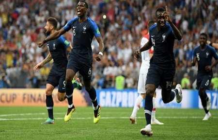 Франция стала двухкратным Чемпионом Мира!