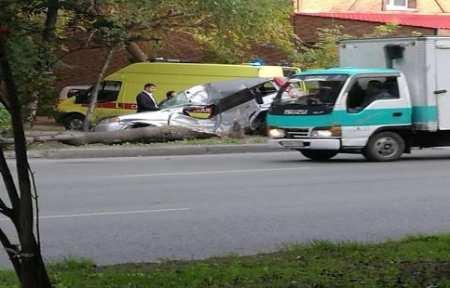 В Артеме в результате ДТП погибла девушка-водитель.