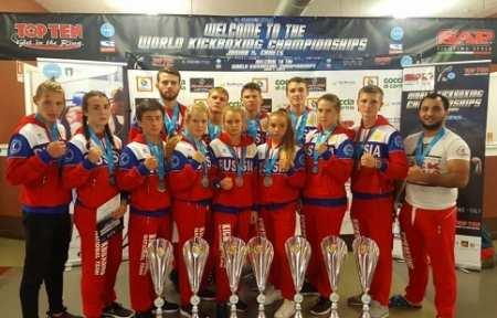 Приморские кикбоксеры завоевали пять медалей на первенстве мира.