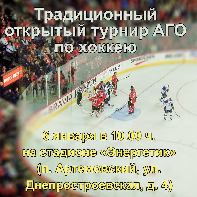 26 января в Артеме пройдет турнир по хоккею.