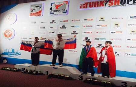 Спортсмен из Приморья завоевал две золотые медали на чемпионате мира по паратхэквондо.