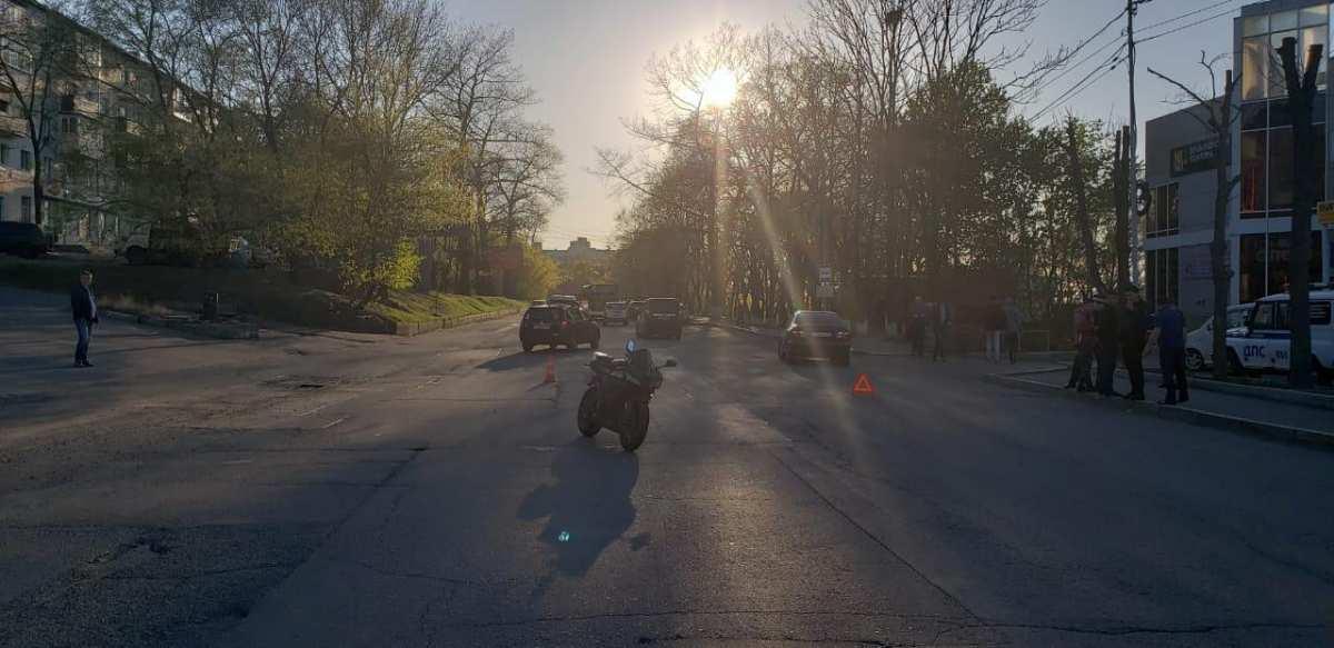 В Приморье отмечен рост ДТП с участием мототраспорта