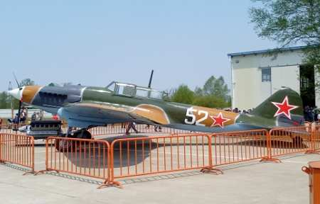 В Приморье восстановили знаменитый штурмовик Ил-2.
