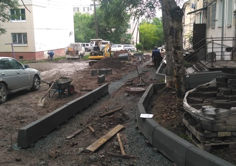 В Артеме началась реализация программы  «1000 дворов»
