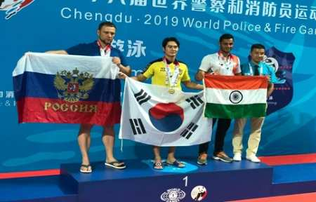 Полицейский из Приморья стал серебряным призером XVIII Всемирных игр полицейских и пожарных в Китае.