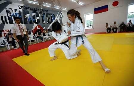 В Артеме дзюдоисты Приморья и Японии провели матчевую встречу.