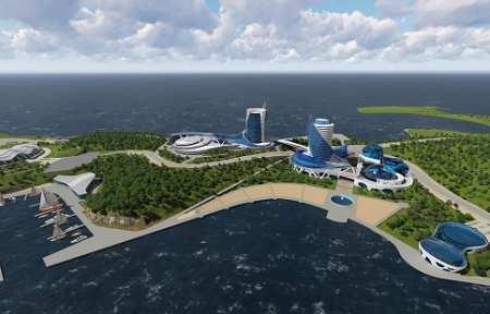 На Русском острове хотят построить аквапарк за 10,2 млрд рублей.