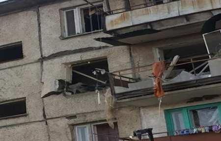 В поселке Новонежино обрушился жилой пятиэтажный дом.