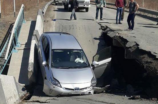 В Приморском крае рухнул очередной аварийный мост