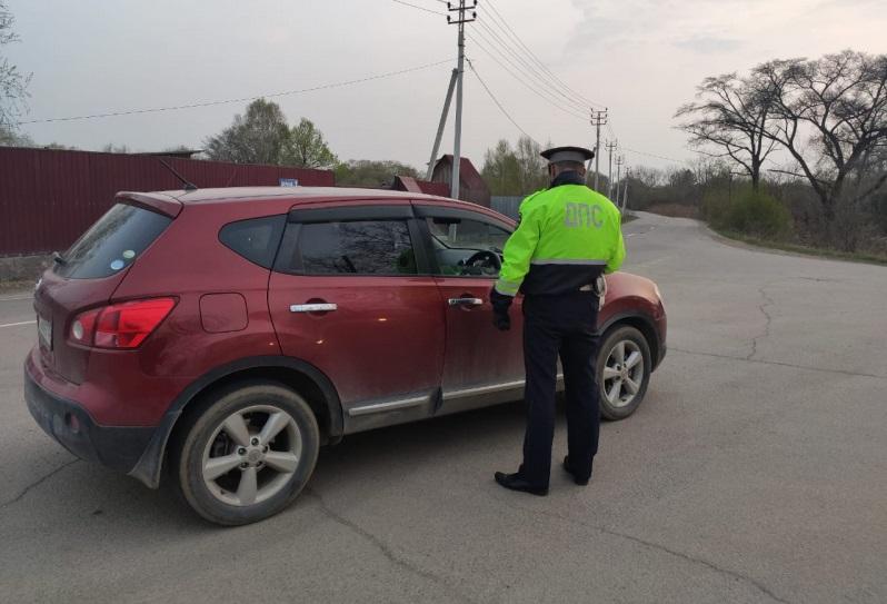 Полиция Артема проводит рейды по пресечению пьянства за рулем